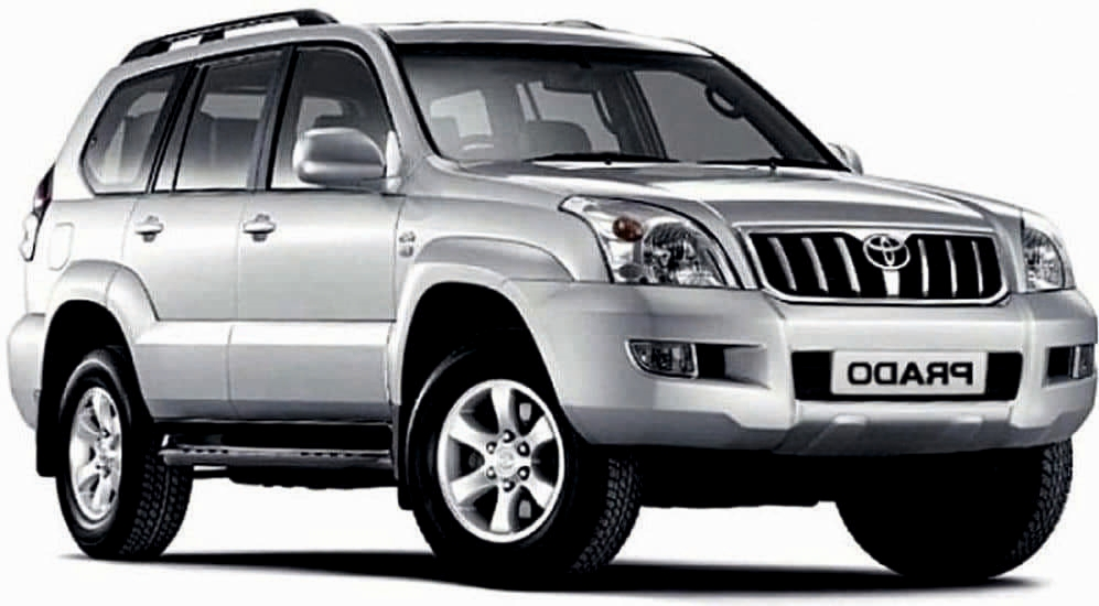 Аренда Toyota Land Cruiser Prado - 2002 в Бишкеке